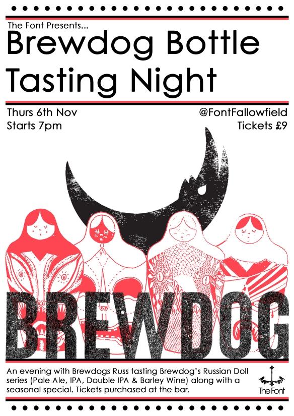 brew dog tasting