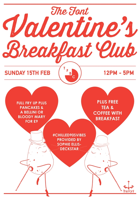 Breakfast club poster valentines