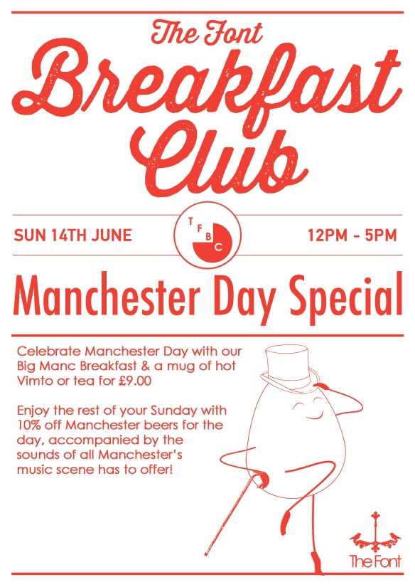 Breakfast club manchester day