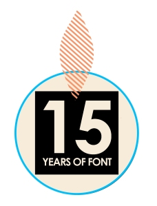 15th birthday logo