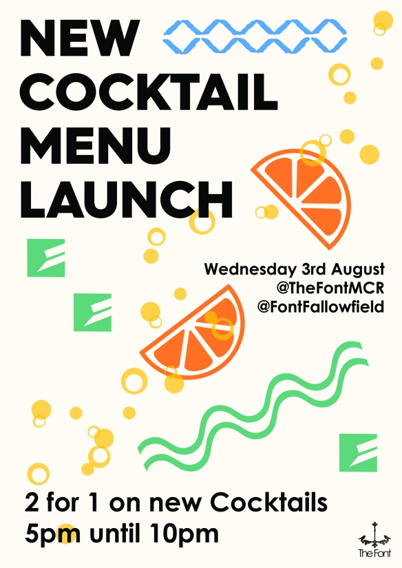 cocktail launch poster INTERNET