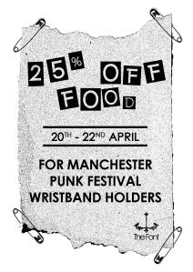 punk fest offer
