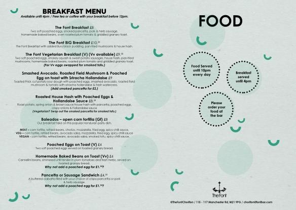 fc food october 2